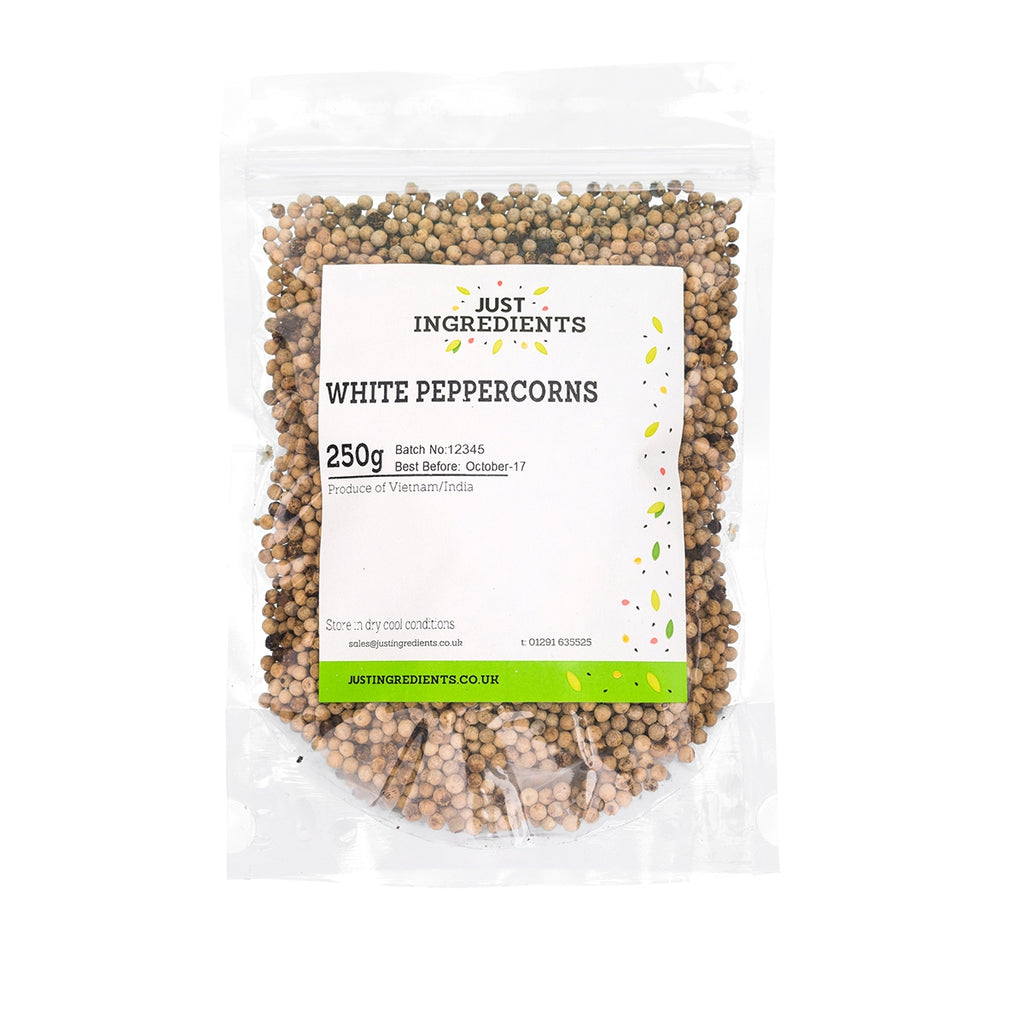 JustIngredients White Peppercorns