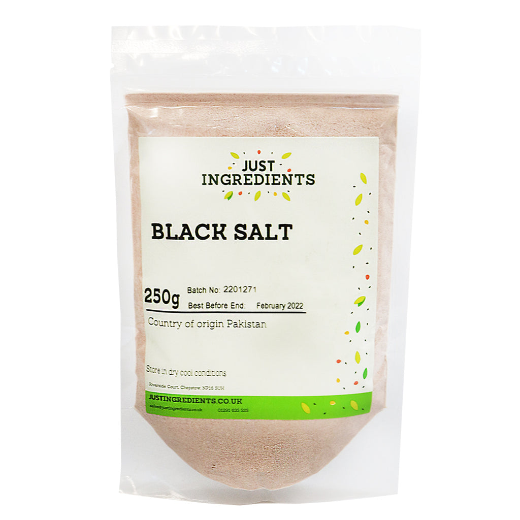 JustIngredients Black Salt (Kala Namak)