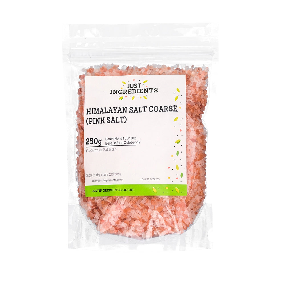 JustIngredients Pink Himalayan Salt Coarse