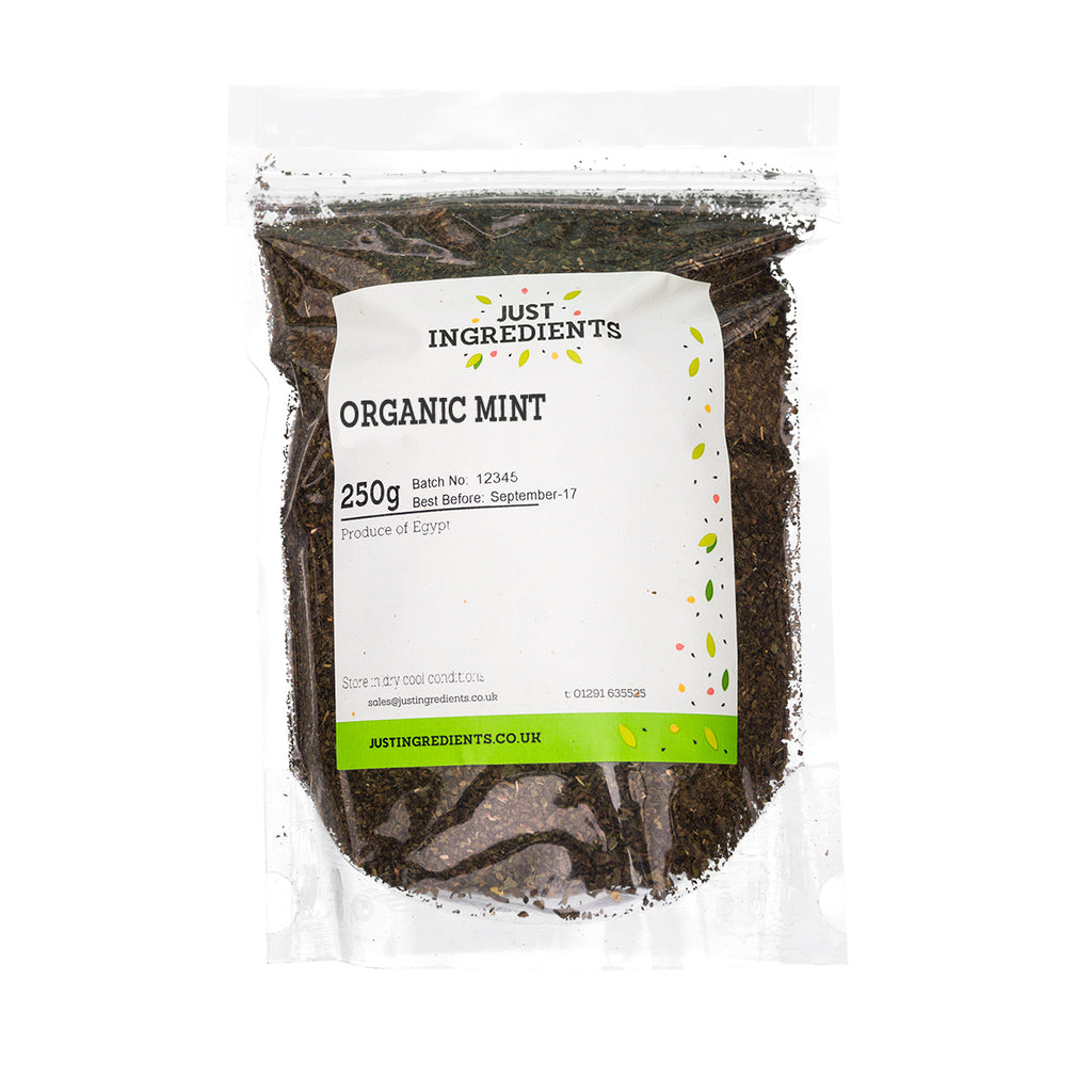 JustIngredients Organic Mint (Spearmint)