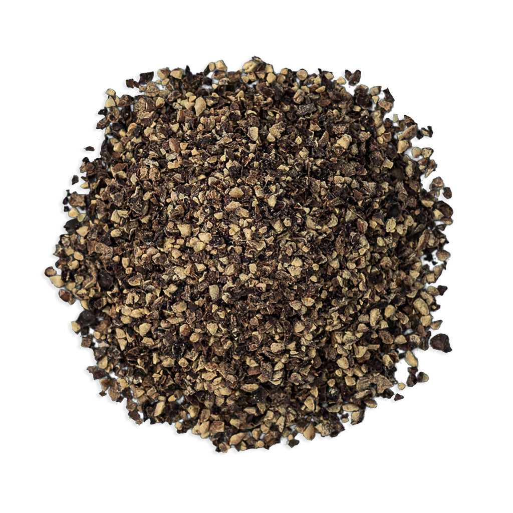 JustIngredients Organic Black Pepper - Coarse Ground 18#