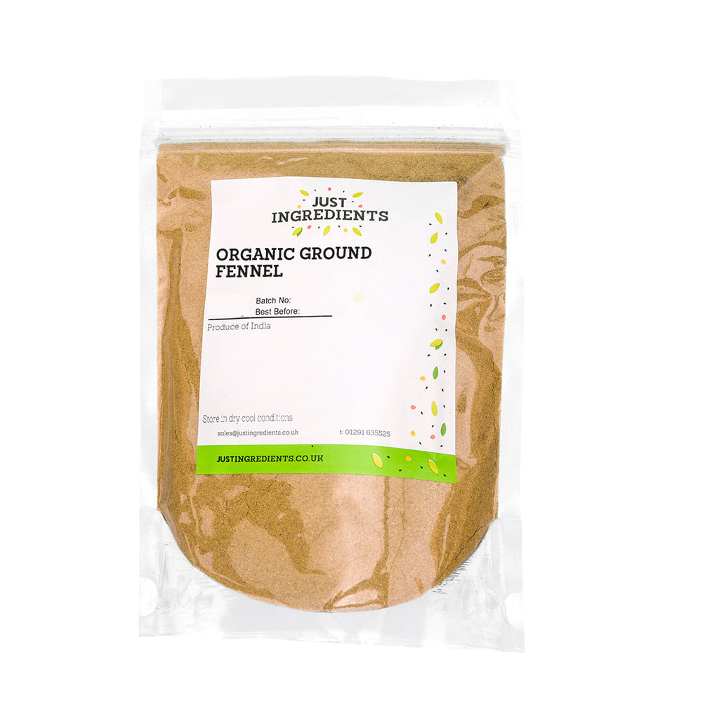 JustIngredients Organic Fennel Ground
