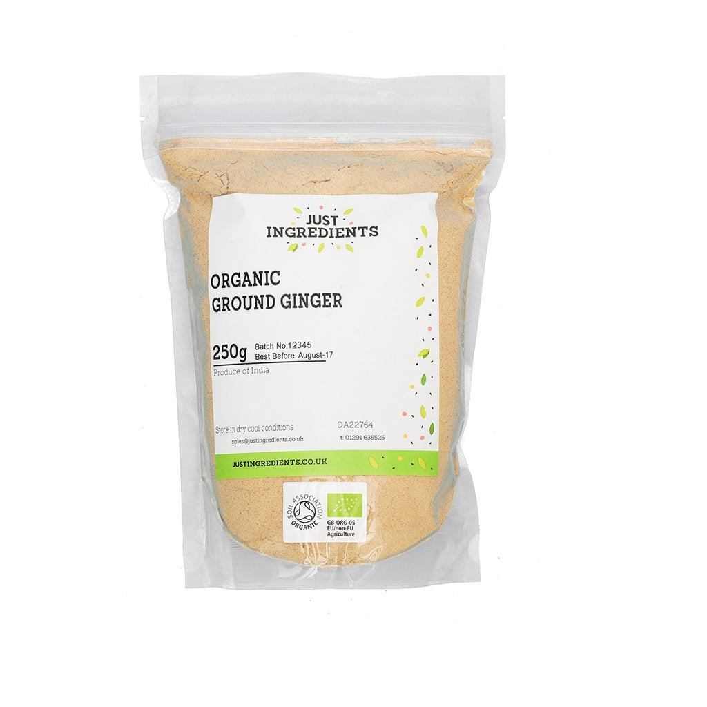 JustIngredients Organic Ginger - Ground