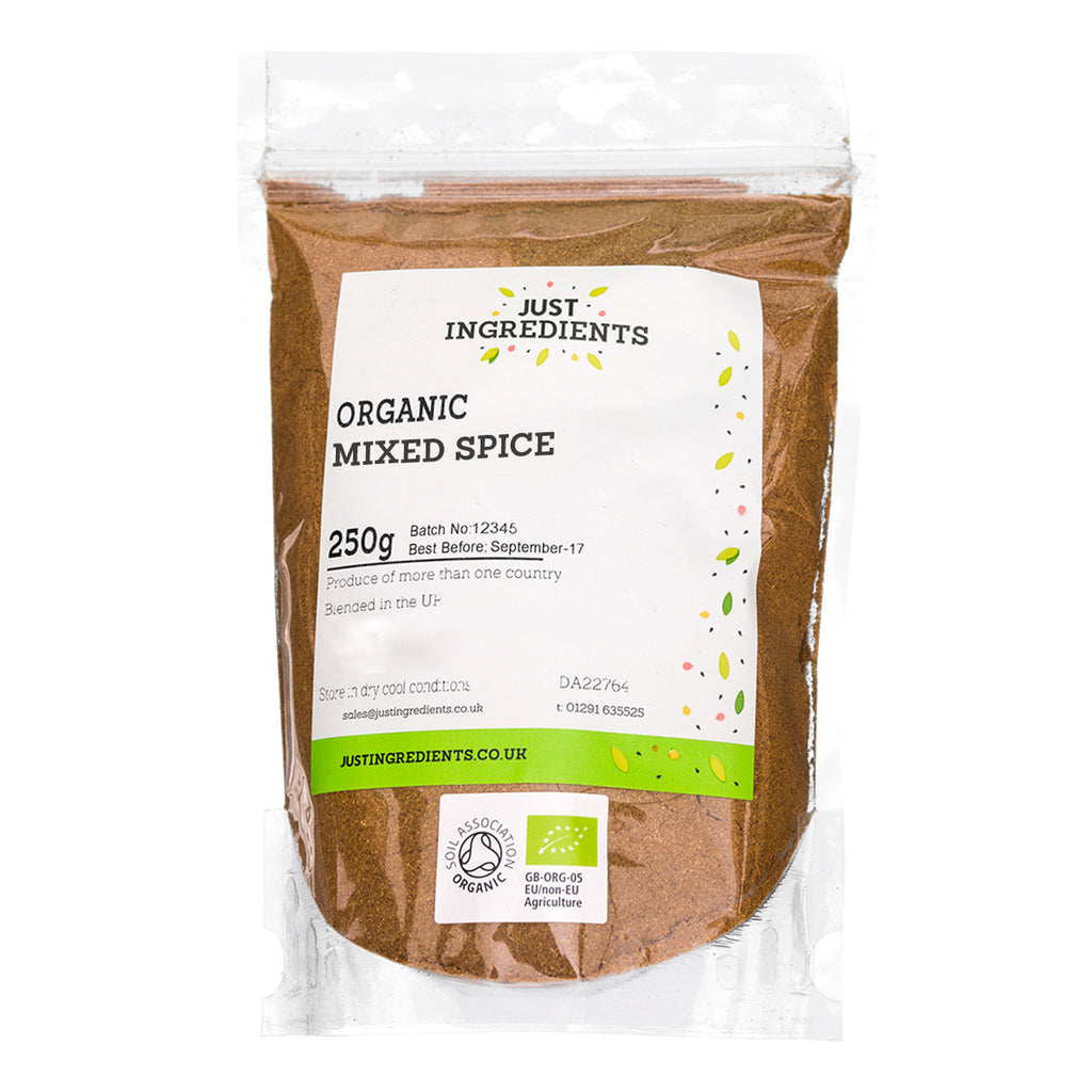 JustIngredients Organic Mixed Spice