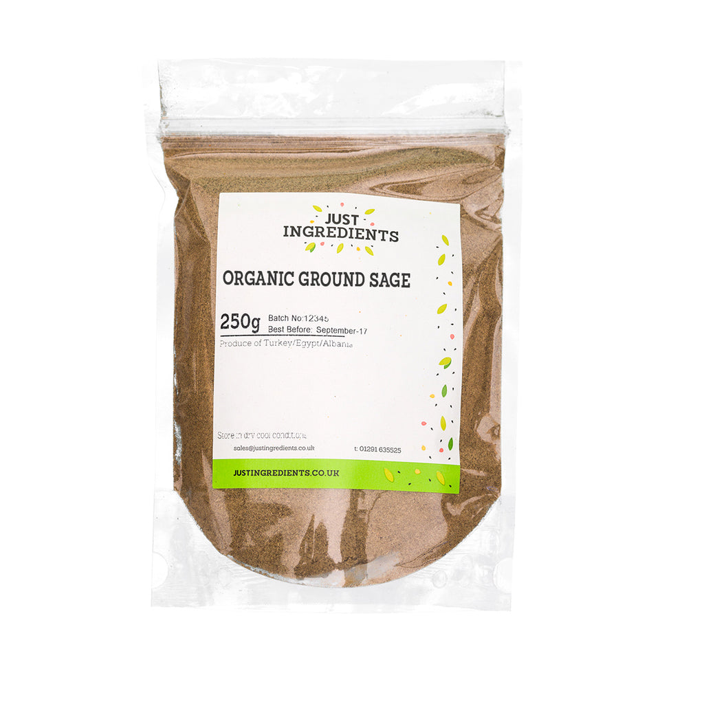 JustIngredients Organic Sage Ground