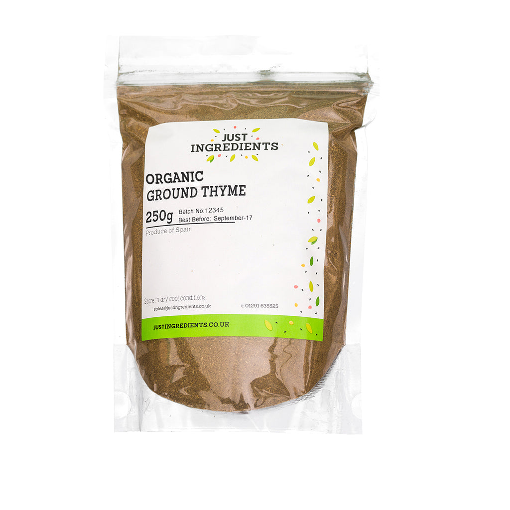 JustIngredients Organic Thyme Ground
