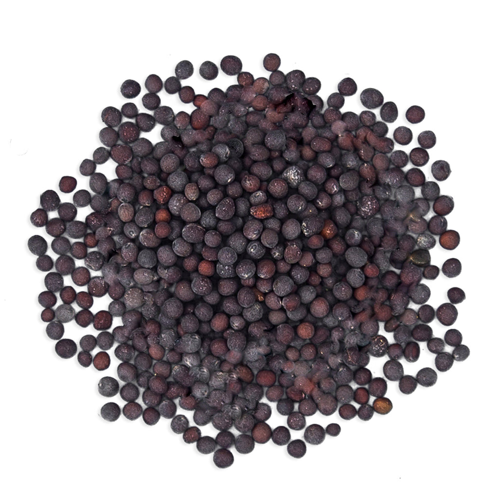 JustIngredients Organic Black/Brown Mustard Seeds