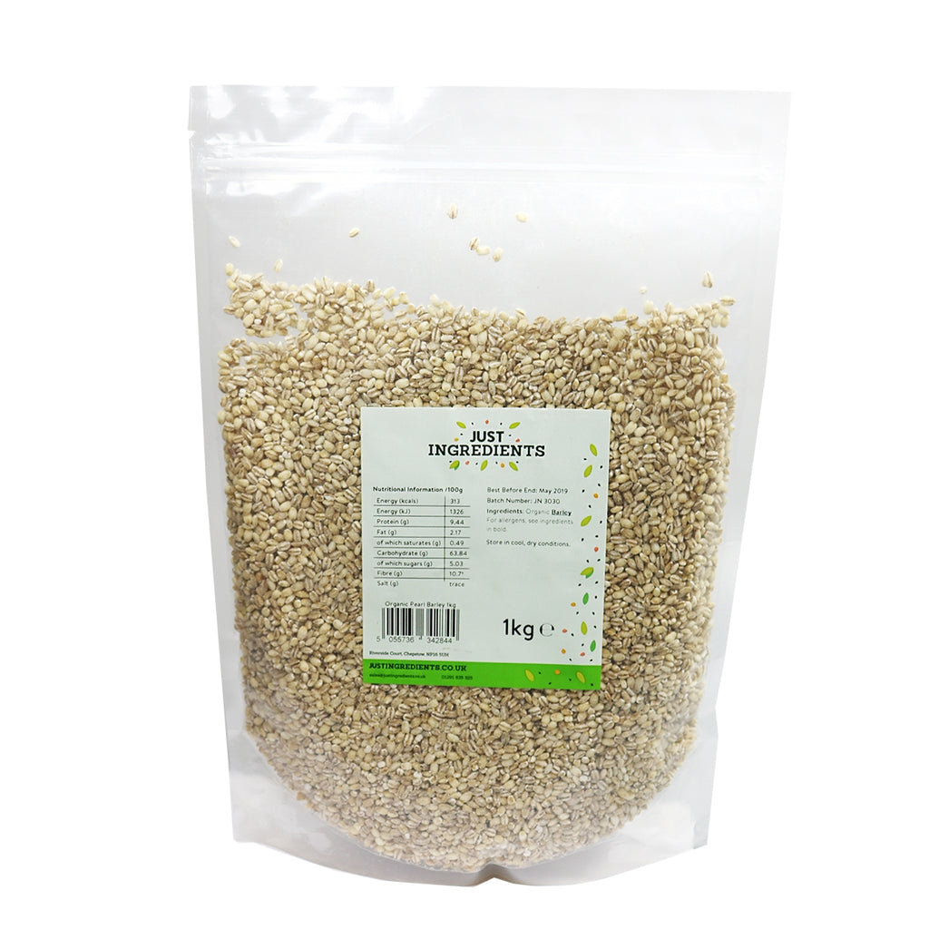 JustIngredients Organic Pearl Barley