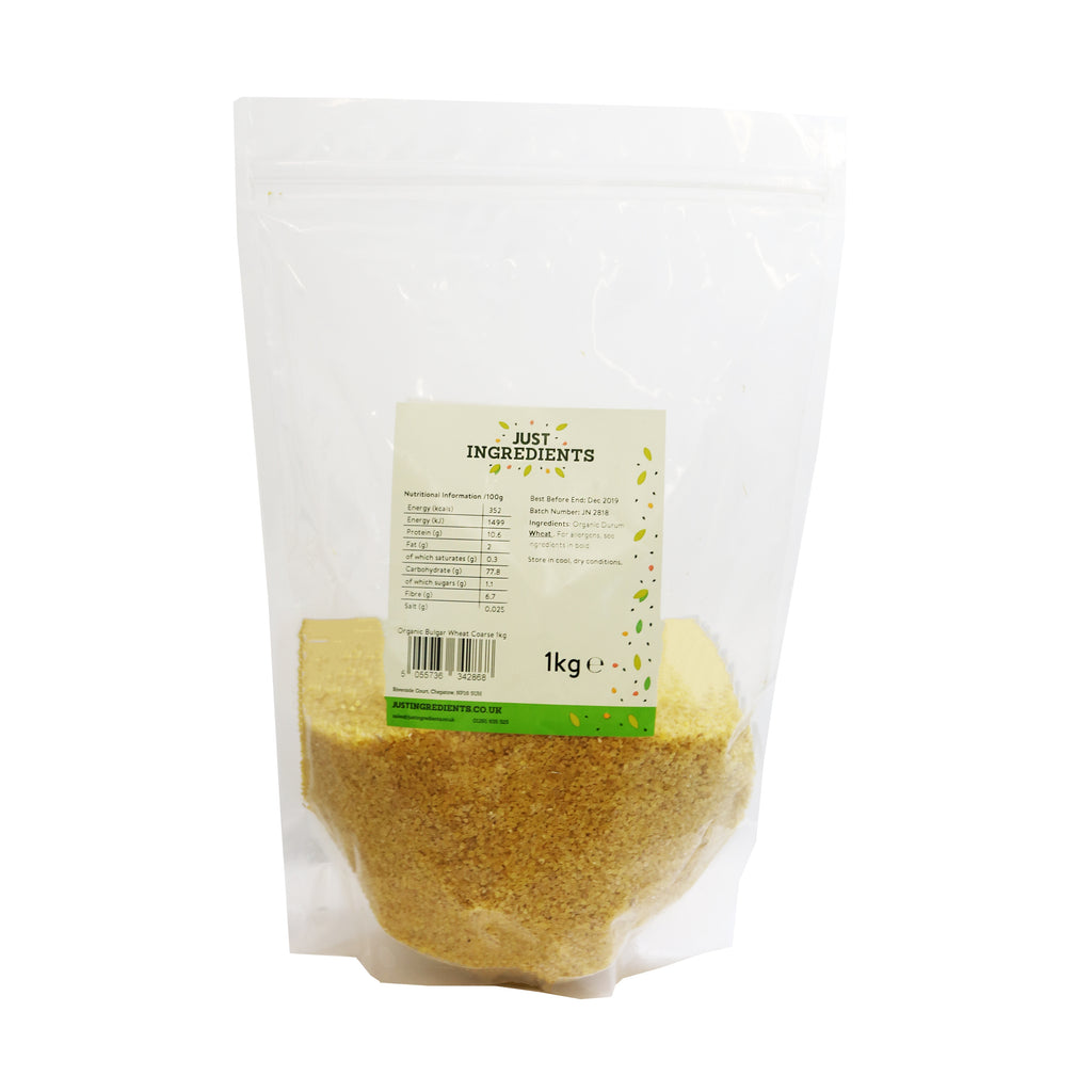 JustIngredients Organic Bulgur Wheat