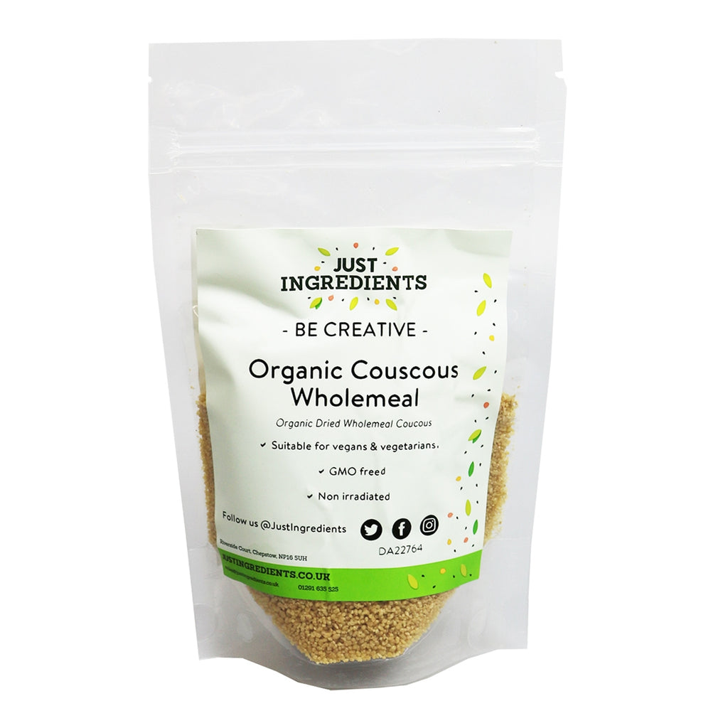 JustIngredients Organic Couscous Wholemeal