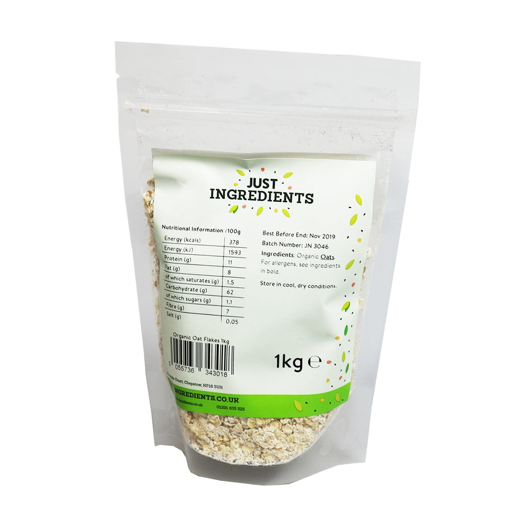 JustIngredients Organic Porridge Oats