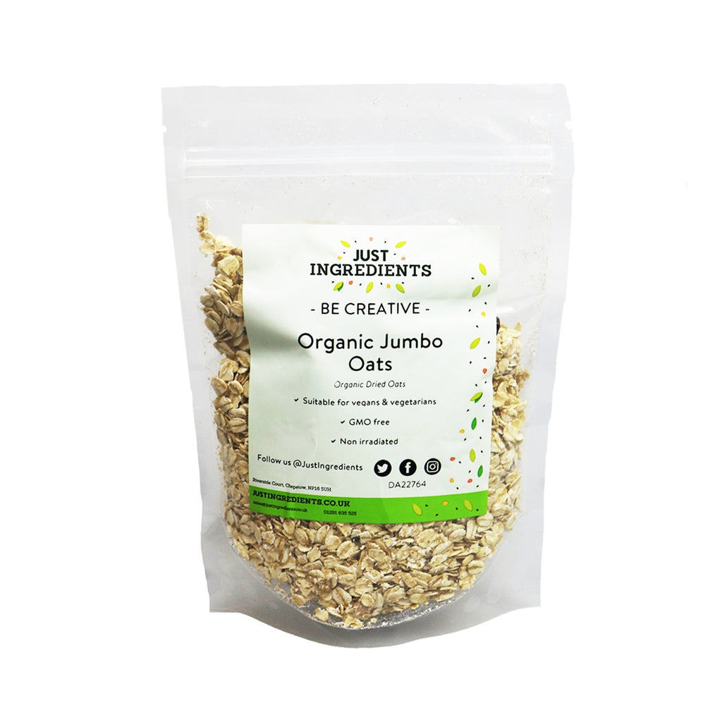 JustIngredients Organic Jumbo Porridge Oats
