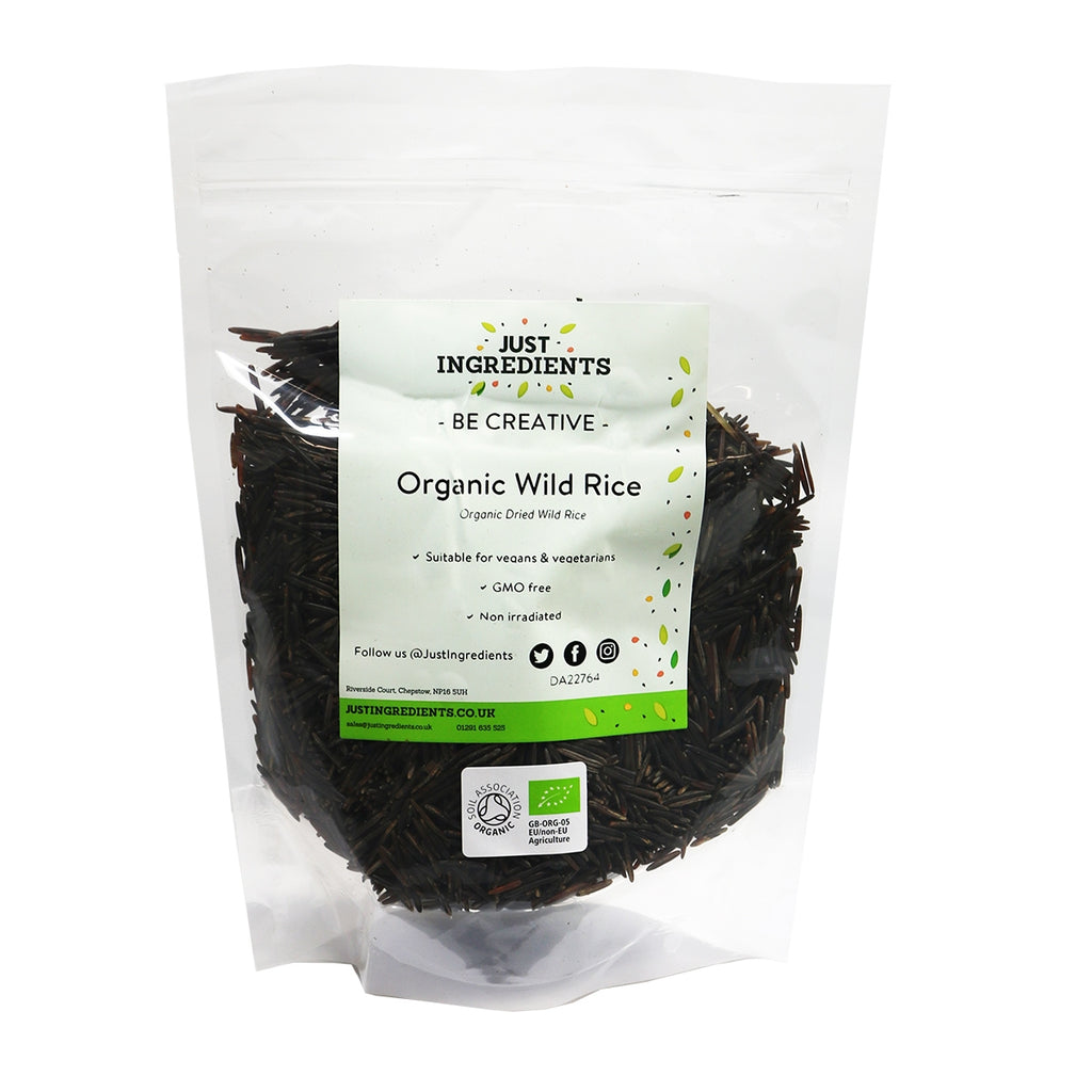 JustIngredients Organic Wild Rice
