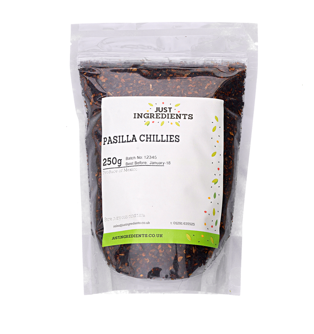 JustIngredients Pasilla Chillies Crushed