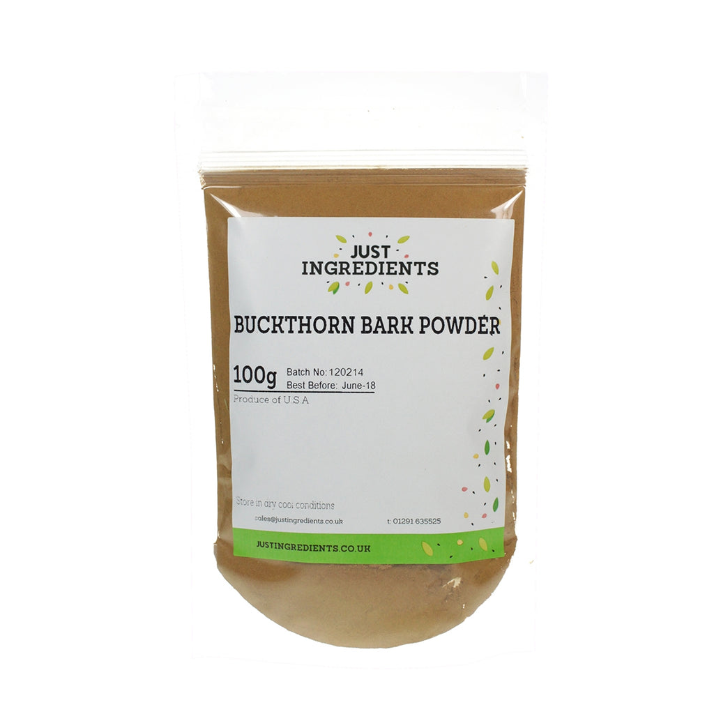 JustIngredients Buckthorn Bark Powder
