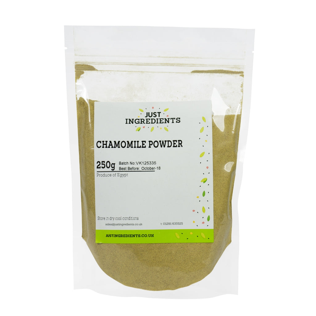 JustIngredients Chamomile Flowers (German) Powder