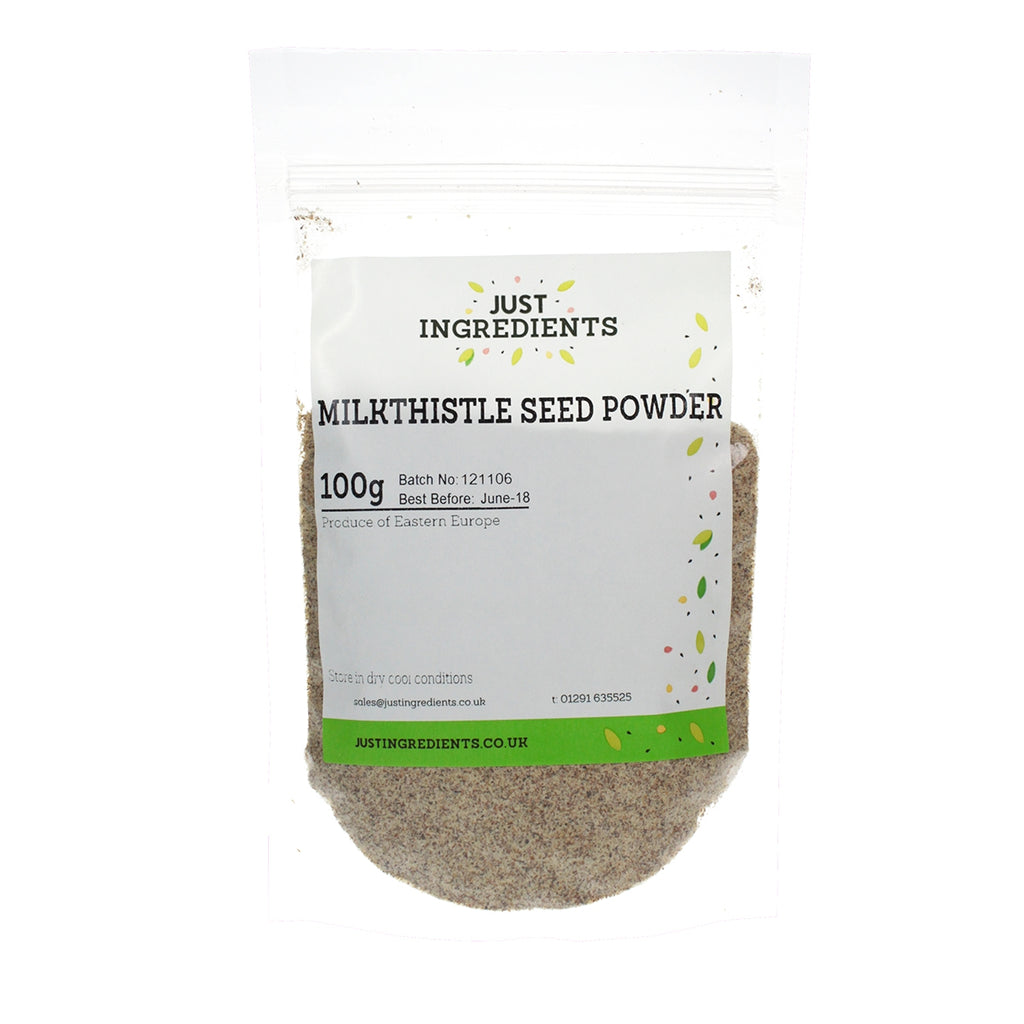 JustIngredients Milk Thistle Seed Powder