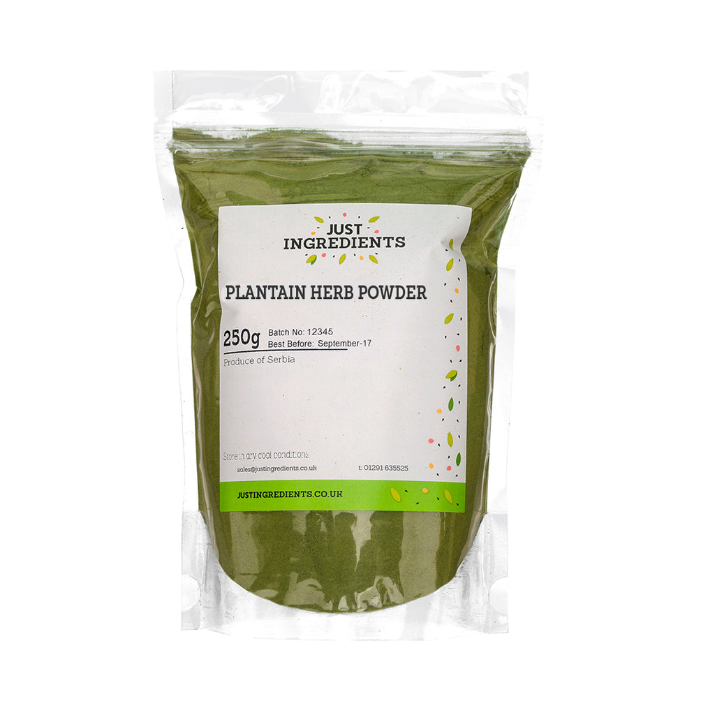 JustIngredients Plantain Herb Powder