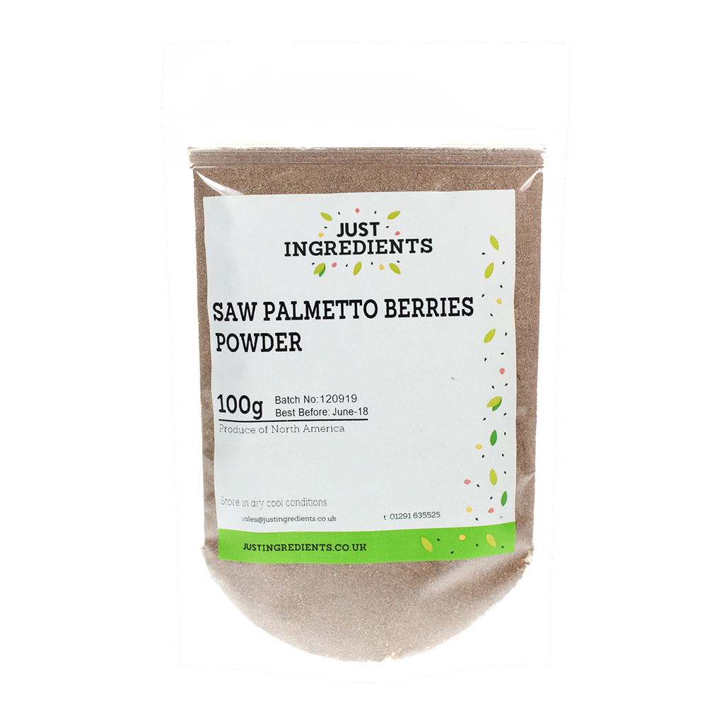 JustIngredients Saw Palmetto Berry Powder