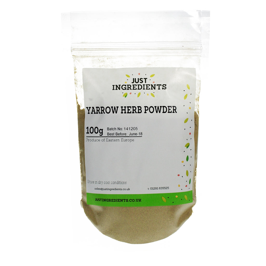 JustIngredients Yarrow Herb Powder