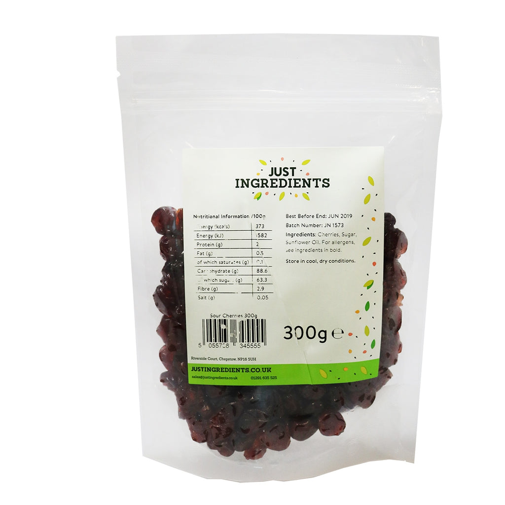JustIngredients Sour Cherries