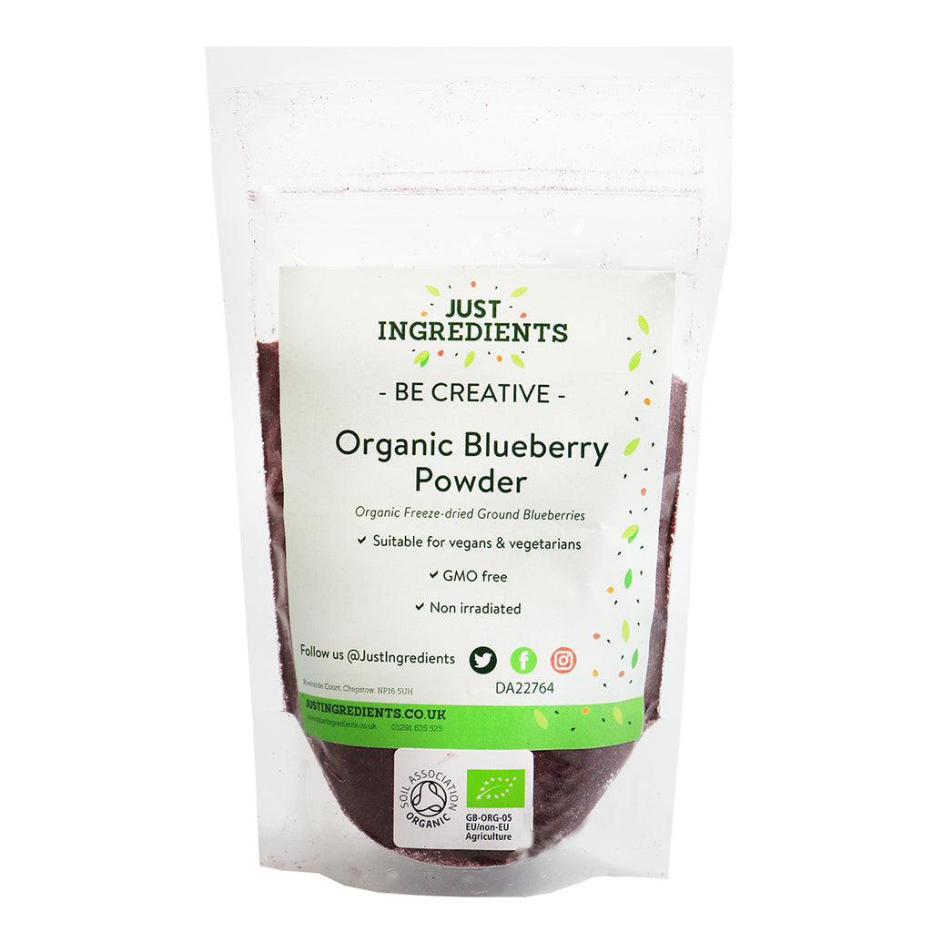 JustIngredients Organic Blueberry Powder