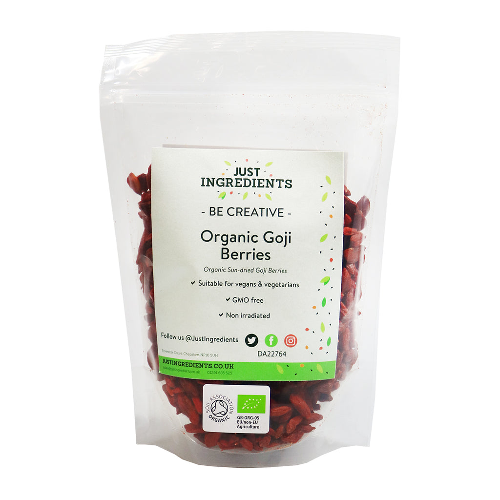 JustIngredients Organic Goji Berries