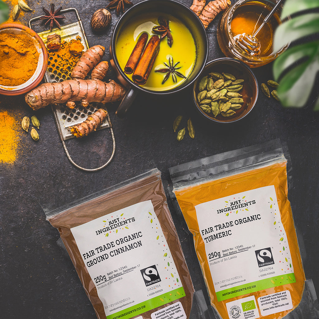 JustIngredients Trade Fairtrade Organic Turmeric