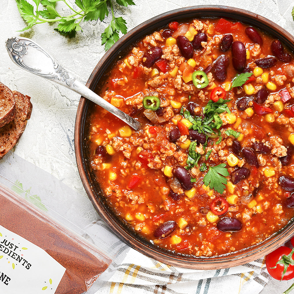 JustIngredients Retail Chilli Con Carne Spice Blend