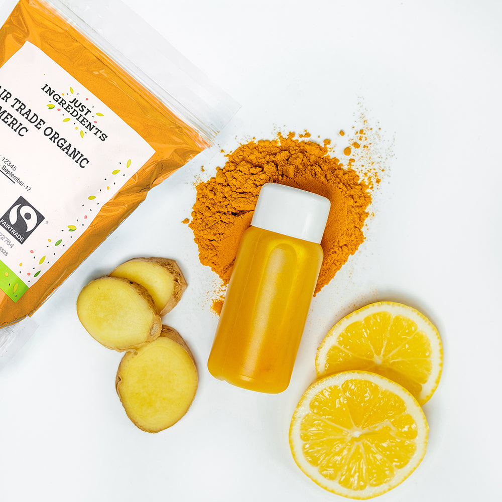JustIngredients Retail Fairtrade Organic Turmeric
