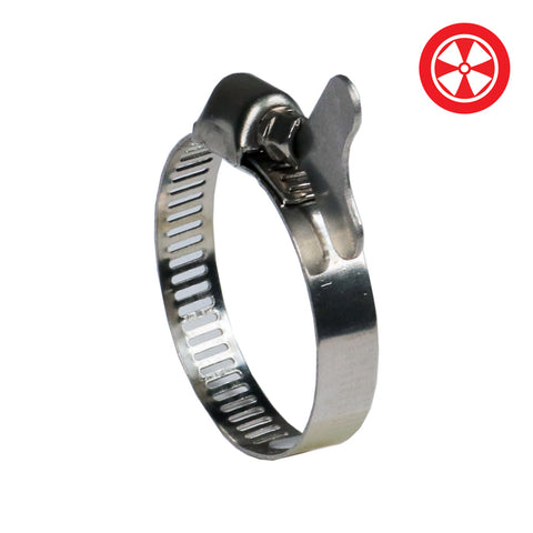 1'' S/S Duct Clamp w/ Butterfly Screw