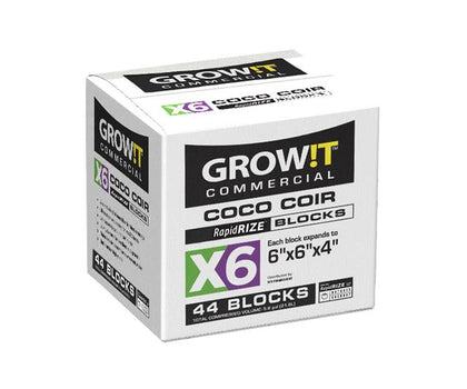 GROW!T Commercial Coco, RapidRIZE Block