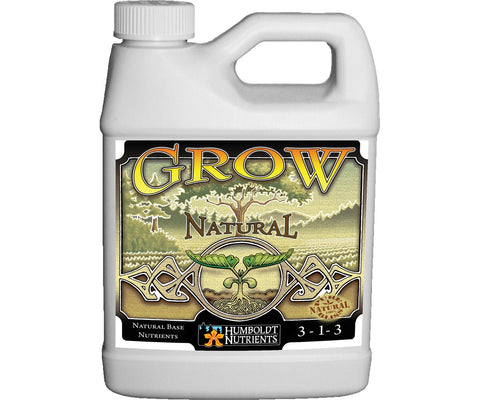 Humbolt Nutrients Grow Natural