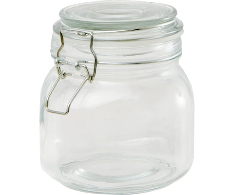 Private Reserve Spring Clamp Jars, 27 oz, pack of 6