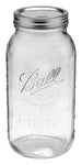Ball Jar, 64 oz (Half Gallon), Wide Mouth , Case of 6