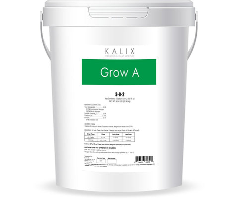 Kalix Grow A Base Nutrient, 5 gal (liquid)