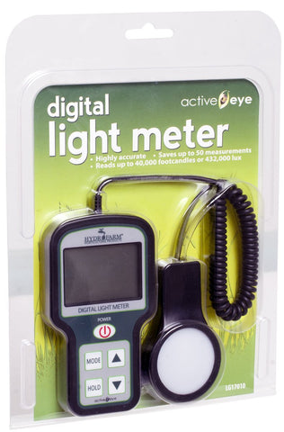 Digital Light Meter (Footcandles)