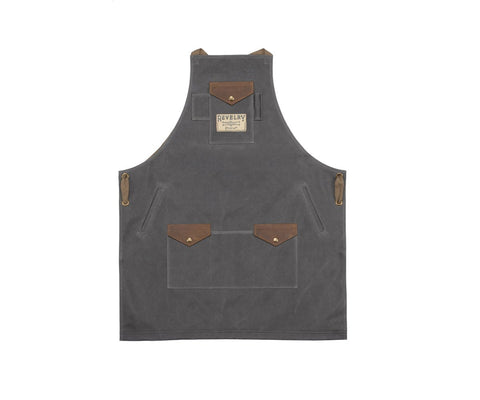 Revelry Supply Waxed Canvas Apron
