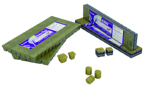 "Grodan A-OK 25/40 10/10 Cubes, 1"" x 1"", 30 sheets of 200"