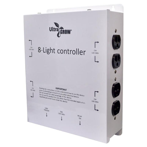 ultragrow-light-controller-8-outlets-with-trigger-cord