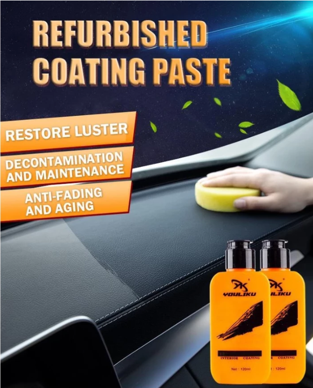 Auto & Leather Renovated Coating Paste Maintenance Agent ( Buy 2 Get Extra 10% Off )