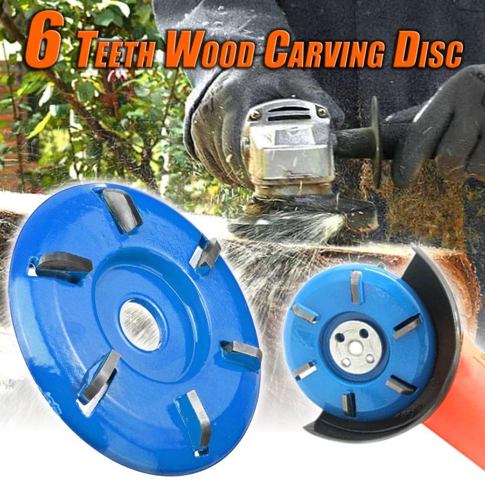 6 Teeth Wood Carving Disc ( Buy 2 Get Extra 10% Off )