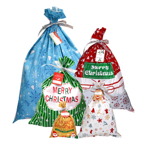 Drawstring Christmas Gift Bags ( Buy 2 Get Extra 10% Off )