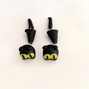 Black Cat Earrings