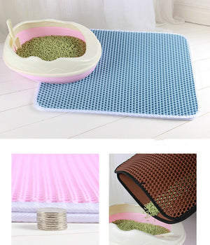 Double Layer Cat Litter Mat ( Buy 2 Get Extra 10% Off )