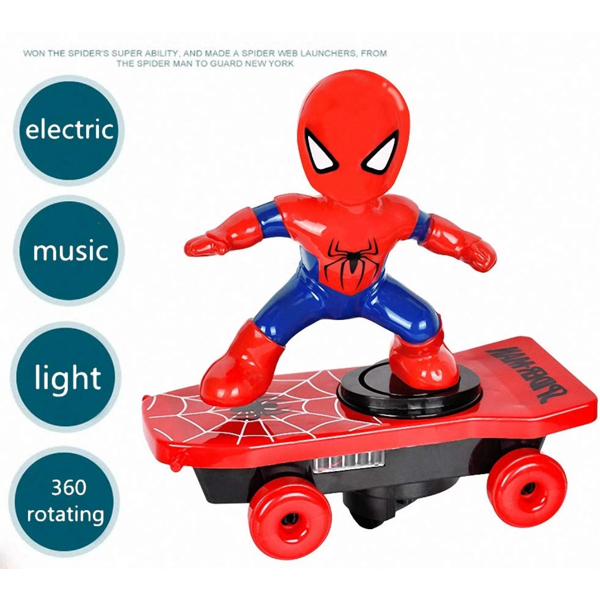 Scooter Electric Car Stunt Music LED Light Toys ( Buy 2 Get Extra 10% Off )