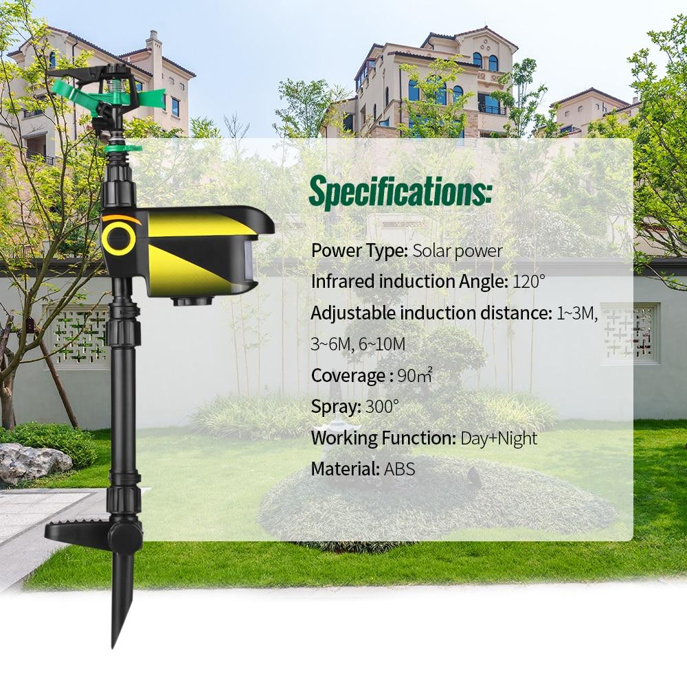 Motion-Activated Sprinkler Repeller ( Buy 2 Get Extra 10% Off )