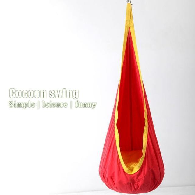 Sensory Pod Swing ( Buy 2 Get Extra 10% Off ) TopViralPick Red