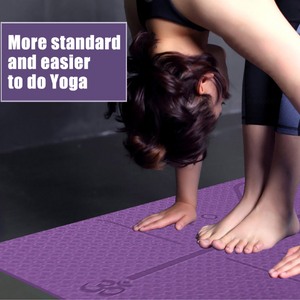 Yoga Mat with Position Line ( Buy 2 Get Extra 10% Off )
