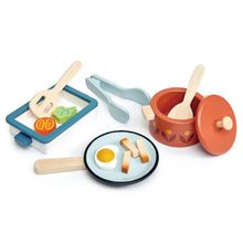 Load image into Gallery viewer, Tender Leaf Toys Pots and Pans (Incoming June)
